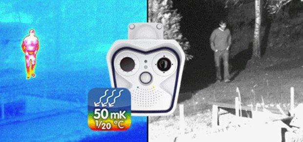 capteurs thermique et nuit mobotix